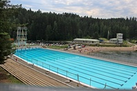 Ahvenisto open air swimming pool