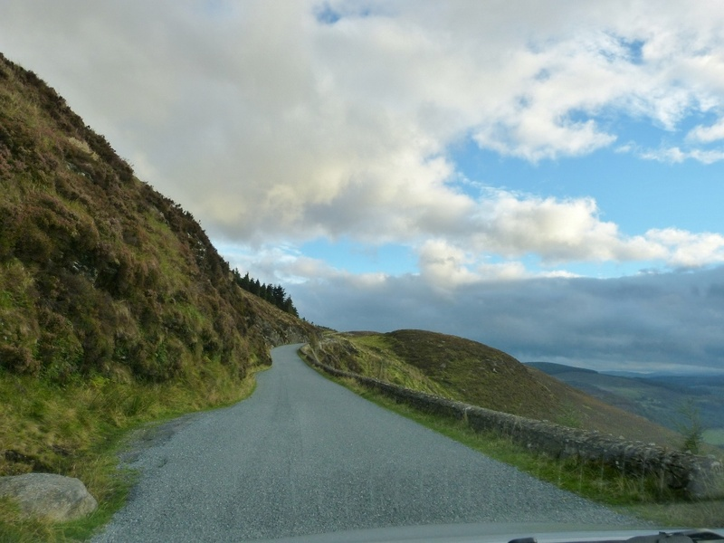 Mountain road Wicklow