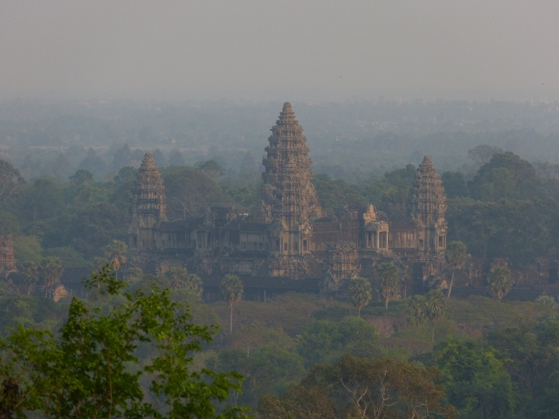 Angkor Wat at sunset