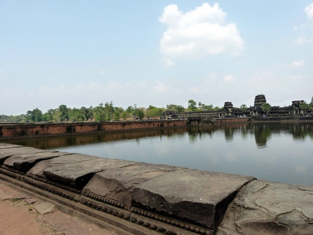 Bridge to Angkor Wat.