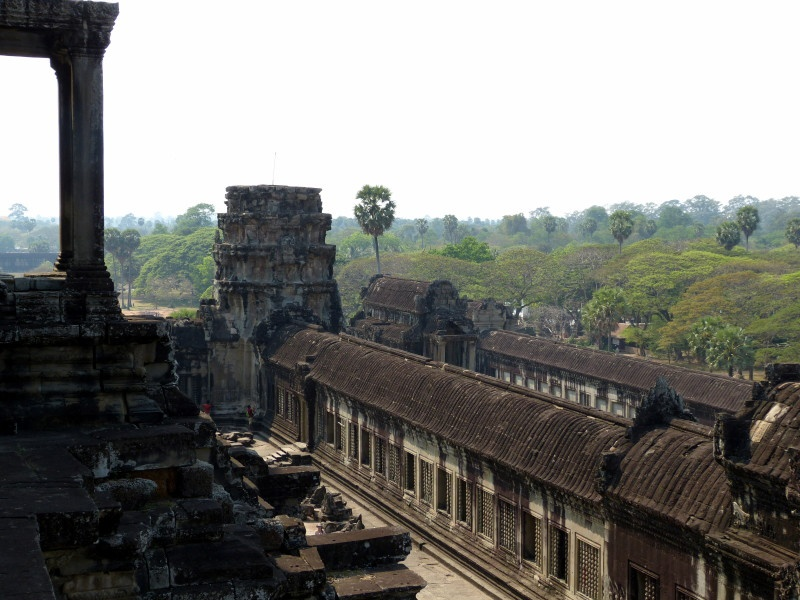 View from the Angkor Wat.