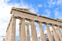 Parthenon pillars