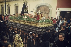 Procession in Antigua, Guatemala